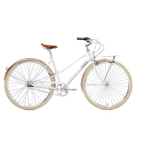 creme cycles CREME CAFERACER DOPPIO LADY WHITE ROSE