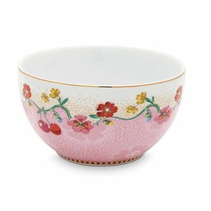 Pip studio Floral kom cherry 12 cm roze