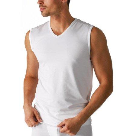Mey Dry Cotton Sleeveless Shirt White