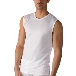 Mey Network Muscle Shirt White