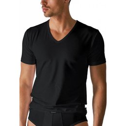 Mey Dry Cotton T-Shirt V-Neck Black