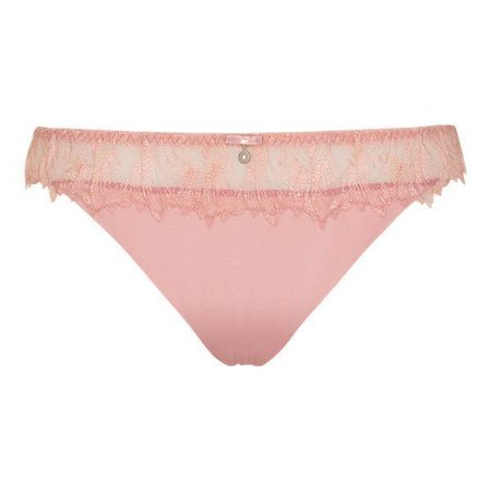 LingaDore Cotton Candy Thong Dusty Rose