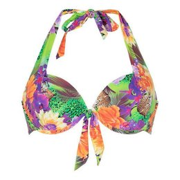 LingaDore Beach Hakuna Matata Halter Neck Bikini Top Jungle Print