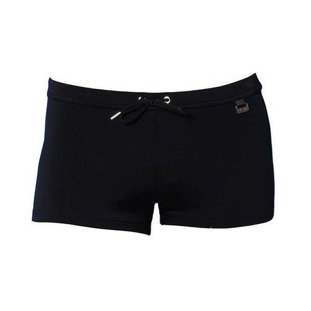 HOM Beachfun Marine Chic Swimshort Black Combination