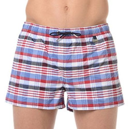 HOM Chateau Swimshort Red