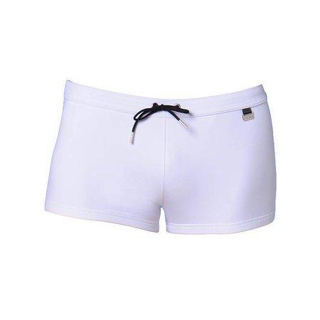HOM Marine Chic 01 Swim Shorts White Light Combination