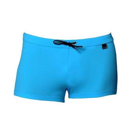 HOM Marine Chic Swim Shorts Blue Curacao