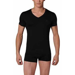 HOM Modal Sensation T-Shirt Black Combination
