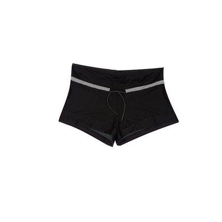 Olympia Shorts Black White