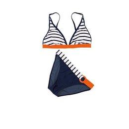 Olympia Triangle Bikini Night Blue