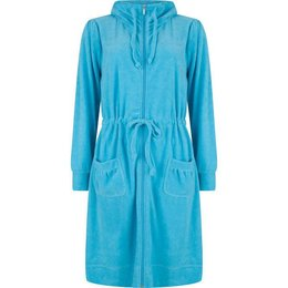 Pastunette Bathrobe Long Deep Sky Blu