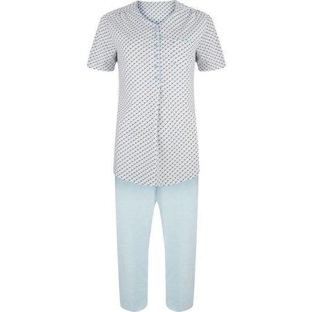 Pastunette Pyjama Set Capri Light Syan
