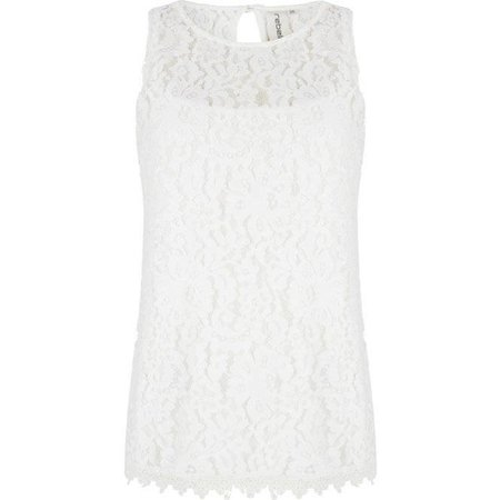 Rebelle Sleeveless Top Lace