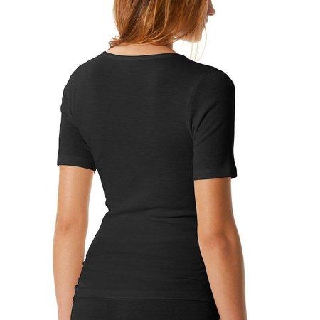 Mey Primera Short Sleeved Top Black
