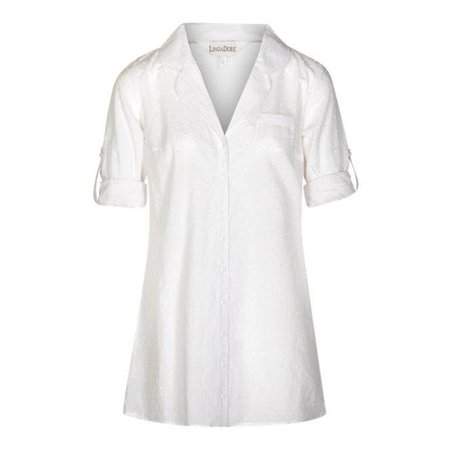 LingaDore Cocoon Pyjama Dress White