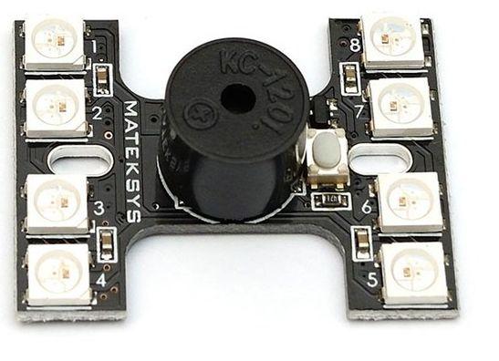 PDB's, LED's en buzzers