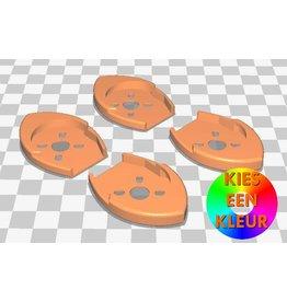 3D print Softmount arm beschermers