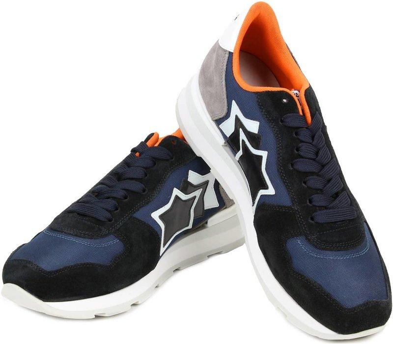 Atlantic Stars Sneakers Antares Navy