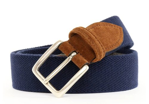 Anderson's Anderson's Fabric Belt Navy