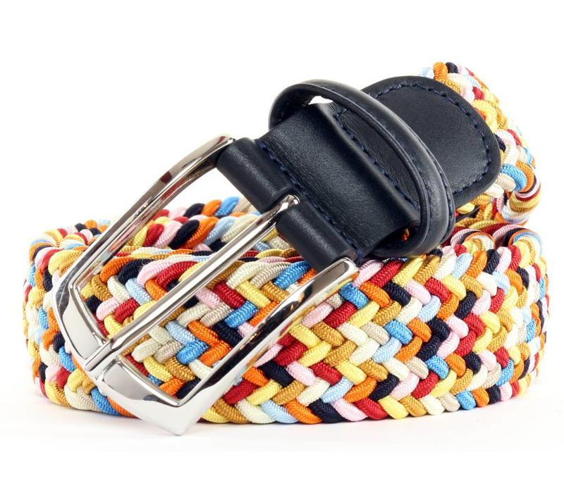 Anderson's Belt Multicolor Disco