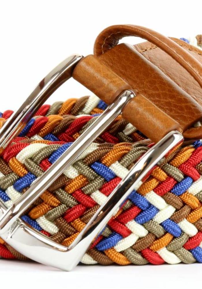 Anderson's Belt Multicolor Tan