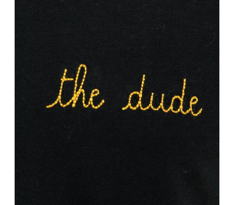 Maison Labiche T-Shirt The Dude Black