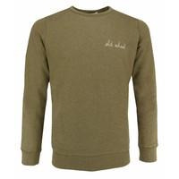 Maison Labiche Sweatshirt Old School Olive