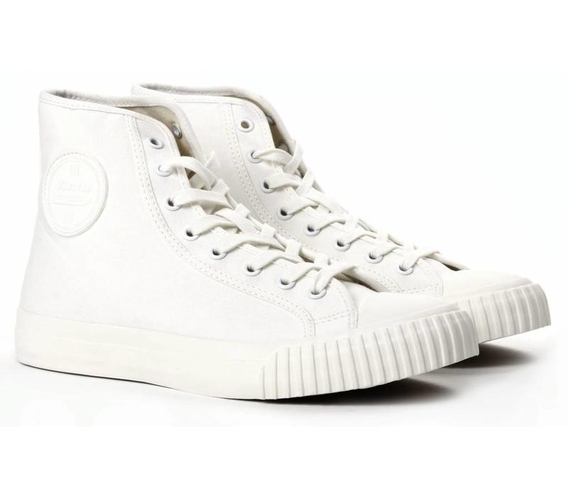 Bata Bullets High-Top White Sneakers