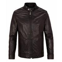 Drykorn Leather Jacket Kone Dark Brown