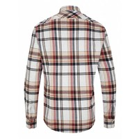 Drykorn Shirt Kolor Beige Checkered