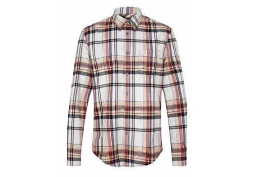 Drykorn Drykorn Shirt Kolor Beige Checkered
