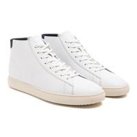 Clae Bradley Mid Sneakers White
