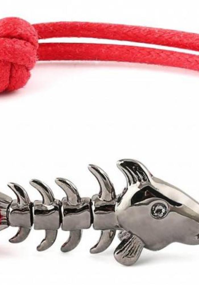 Thompson London Armband Skeleton Fish Rood