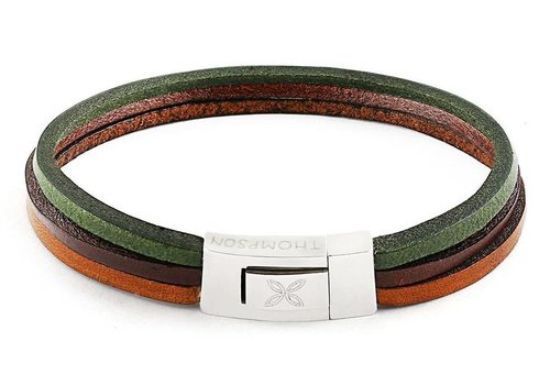 Thompson London Thompson London Bracelet Trio Mix Brown Green M