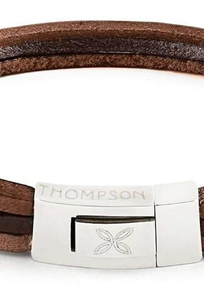 Thompson London Armband Trio Bruin L