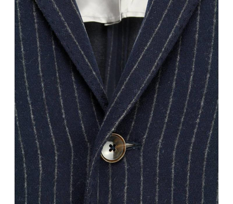 Circle of Gentlemen Blazer Abel Navy Pinstripe