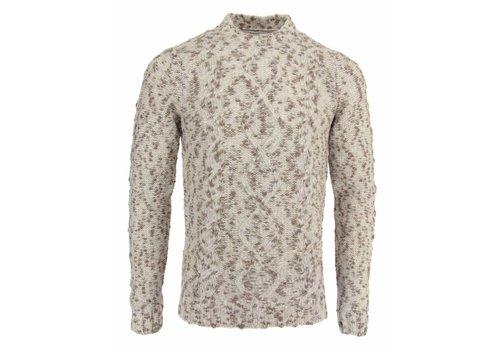 Wool&Co. Wool&Co. Kabeltrui Beige