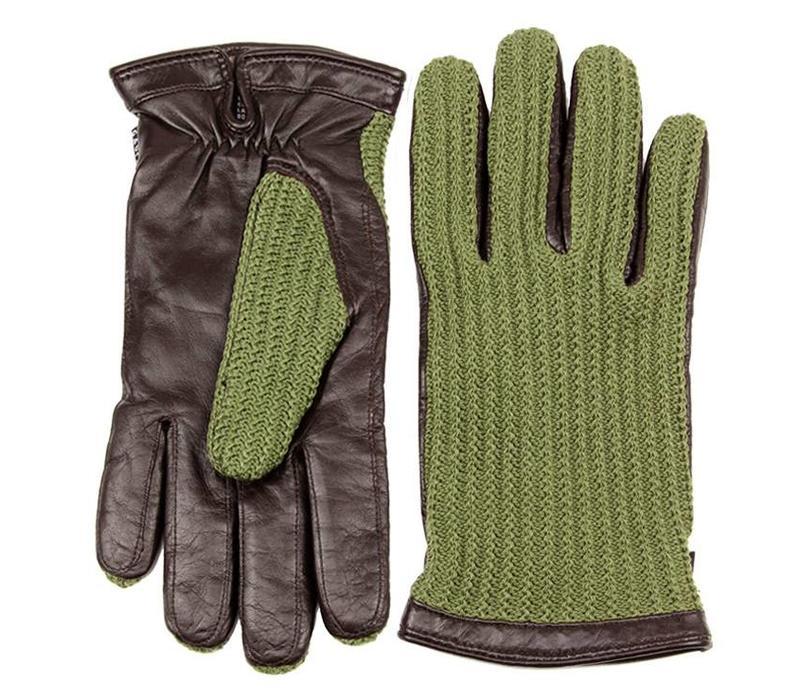 Gaucho Miland Handschoenen Olive/Espresso