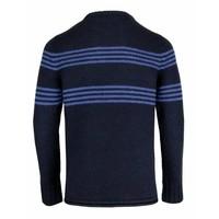Drykorn Jumper Adeo Navy Blue Stripes