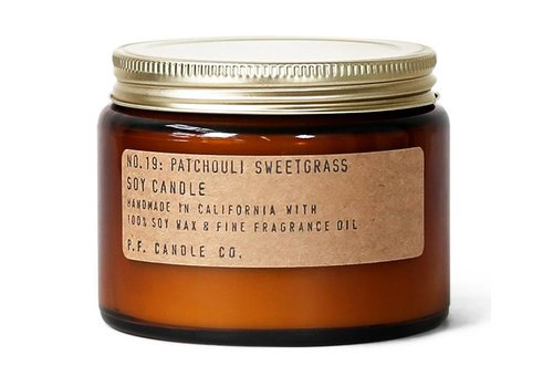 P.F. Candle Co. P.F. Candle Co. No. 19 Patchouli Sweetgrass 14 oz