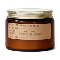 P.F. Candle Co. No. 04 Teakwood & Tobacco 14 oz