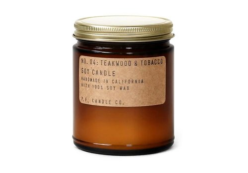 P.F. Candle Co. P.F. Candle Co. No. 04 Teakwood & Tobacco