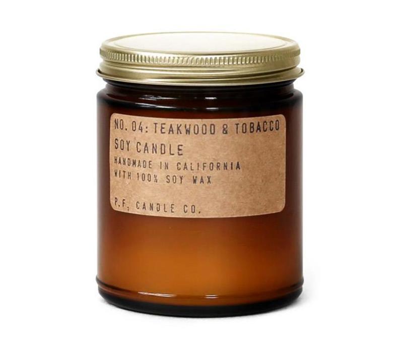 P.F. Candle Co. No. 04 Teakwood & Tobacco