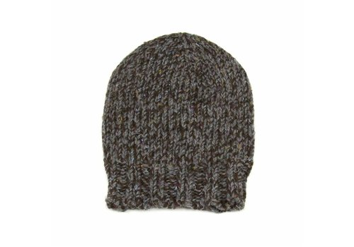 Wool&Co. Wool&Co. Cap Grey Brown Sprinkled