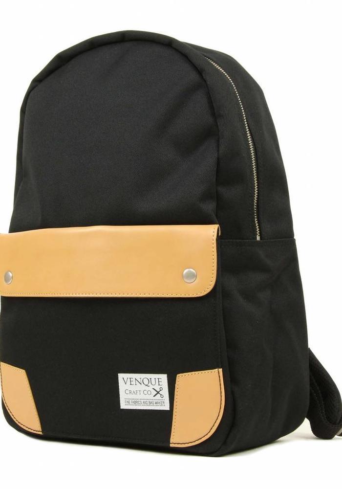 Venque Classic Backpack Black/Beige