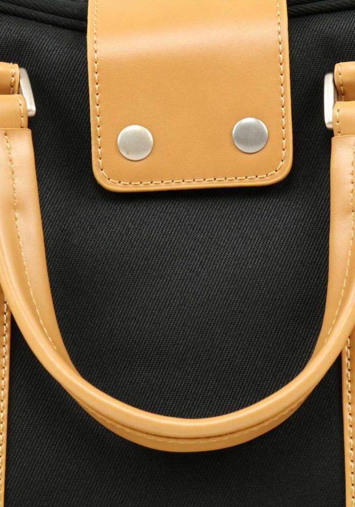 Venque Hamptons Laptop Bag Black / Beige