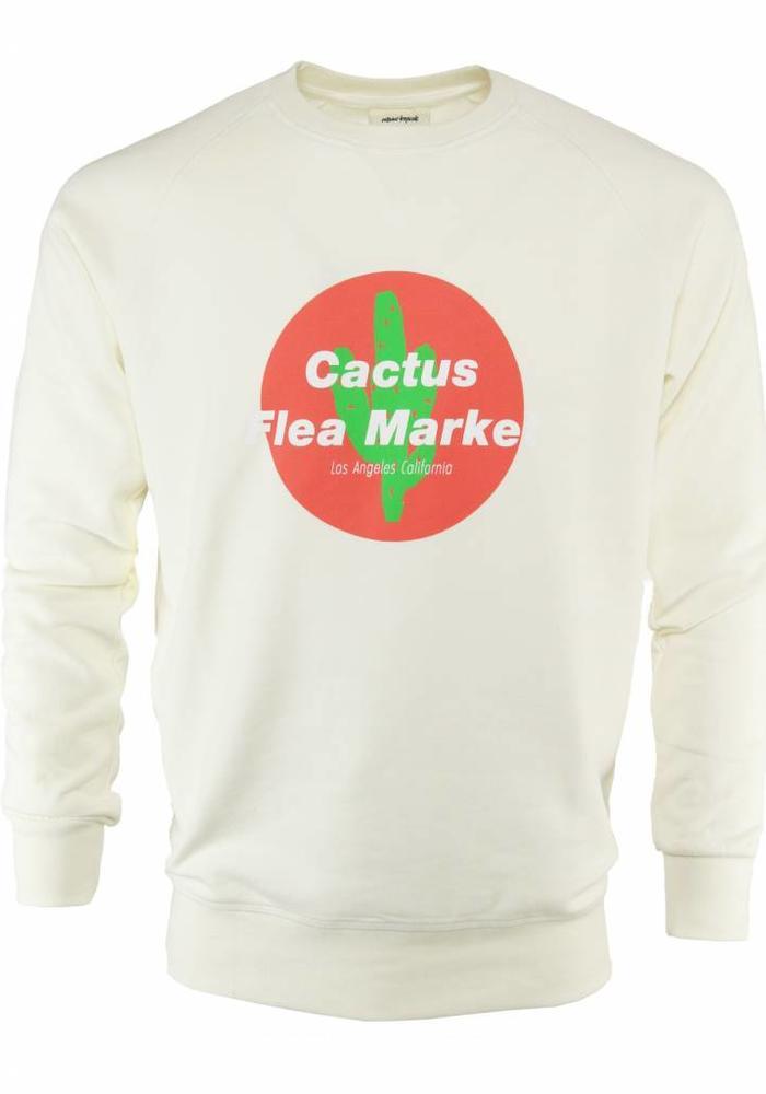 Avenue Tropicale Sweater Cactus Flea Market Off White