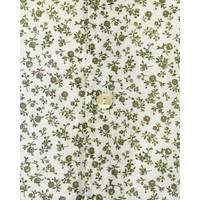 Tintoria Mattei Overhemd Green Flowerprint