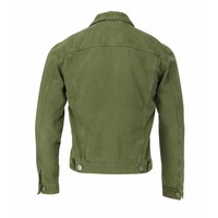 Gabba Denim Jacket Dave Army Groen