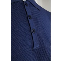 Wool & Co. Polo Navy